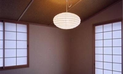 菩提寺の家 (和室(撮影:絹巻豊))