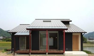 鶴居の家 (テラス(撮影:後藤健治))
