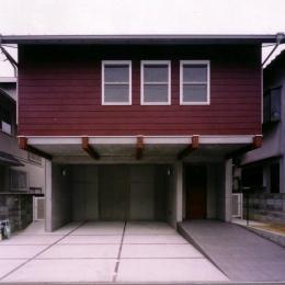 千種の家 (外観(撮影:絹巻豊))