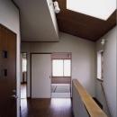 明るい階段ホール(撮影:絹巻豊)