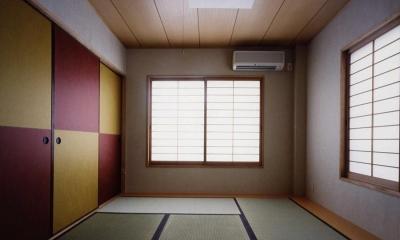 御影の家 (和室(撮影:絹巻豊))