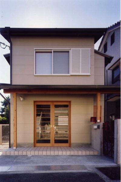 ギャラリーのある家 (外観(撮影:絹巻豊))