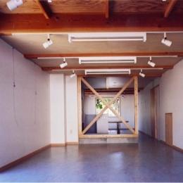 ギャラリーのある家 (シンプルなギャラリー(撮影:絹巻豊))