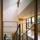 裾野の家の写真 吹き抜けの階段