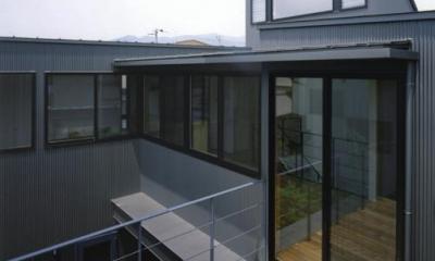 2階デッキ|裾野の家