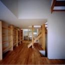 2階リビング(撮影:市川かおり)