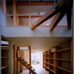 2階と3階(撮影:市川かおり) (tt-house)
