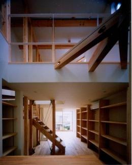 tt-house (2階と3階(撮影:市川かおり))