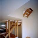 階段(撮影:市川かおり)