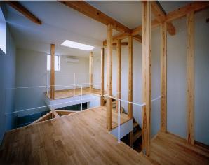 tt-houseの部屋 3階スペース-2(撮影:市川かおり)