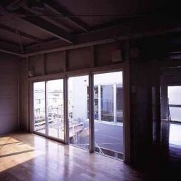 敷地が18坪の家-3階寝室(撮影:市川かおり)