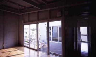 敷地が18坪の家 (3階寝室(撮影:市川かおり))