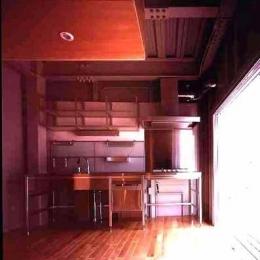 敷地が18坪の家 (キッチン(撮影:市川かおり))