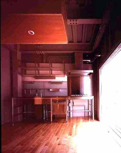 敷地が18坪の家の部屋 キッチン(撮影:市川かおり)