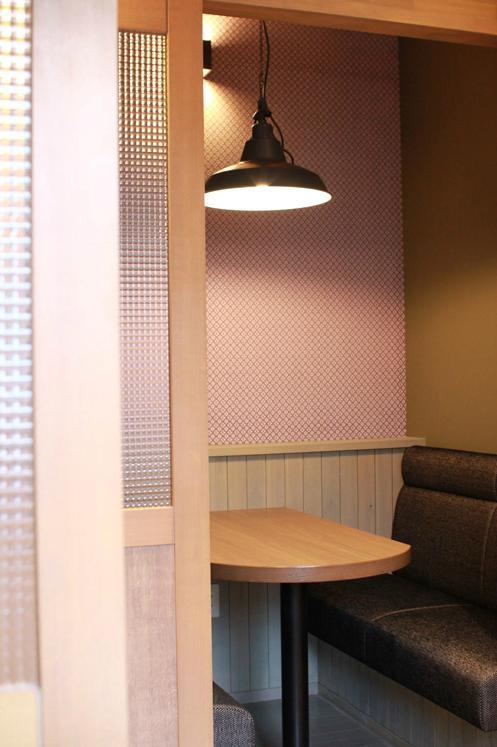 Lazareの写真 カフェ個室2