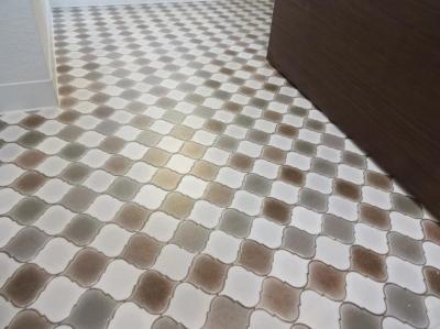 お洒落な床 (2DK⇒1K スタイリッシュリノベーション)