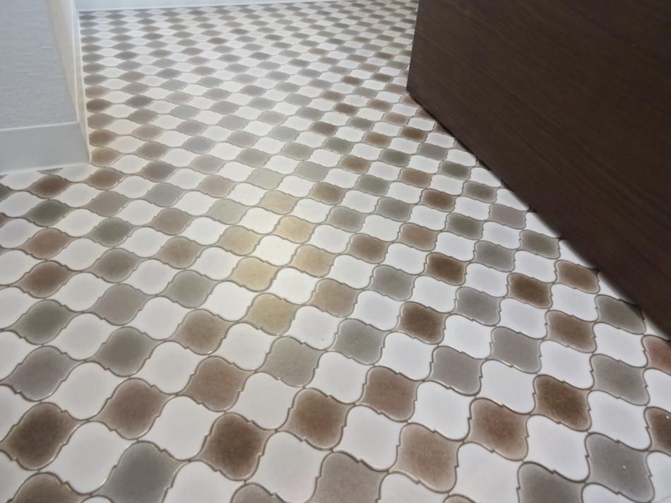 2DK⇒1K スタイリッシュリノベーションの写真 お洒落な床