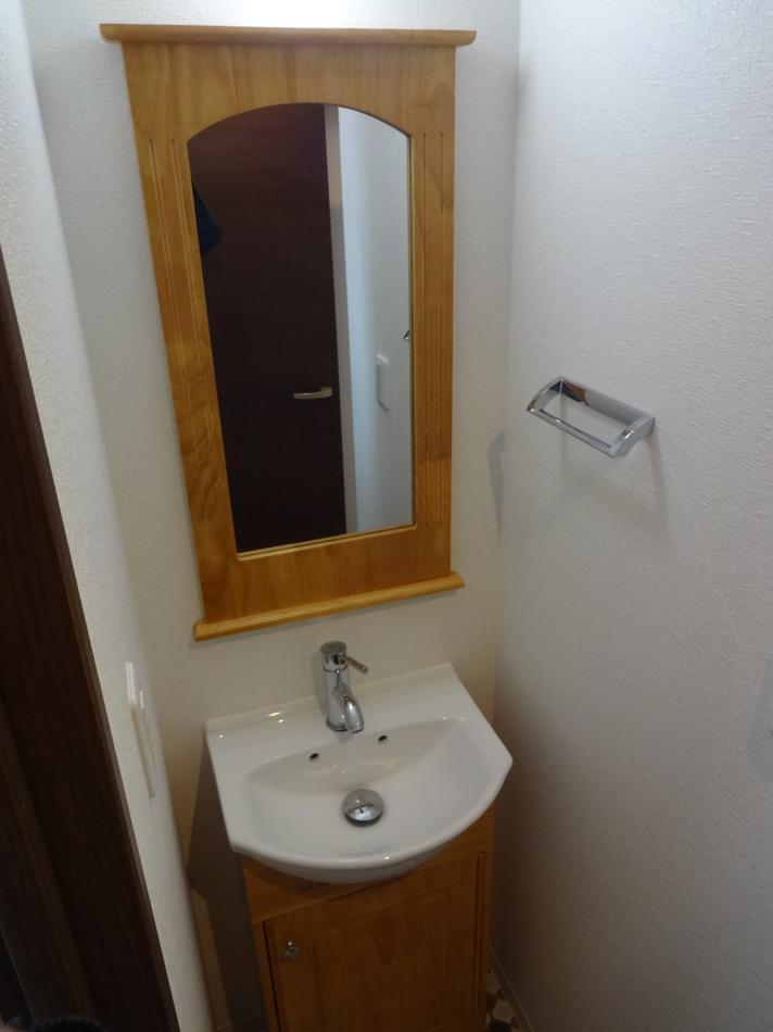 2DK⇒1K スタイリッシュリノベーションの部屋 独立洗面台