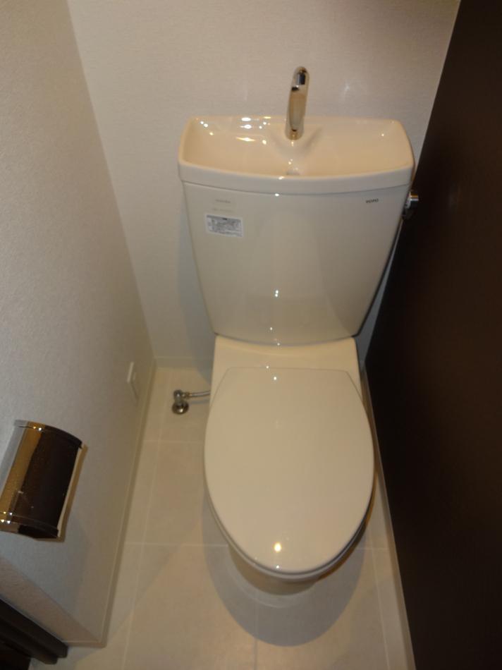 バス/トイレ事例:トイレ(2DK⇒1K スタイリッシュリノベーション)