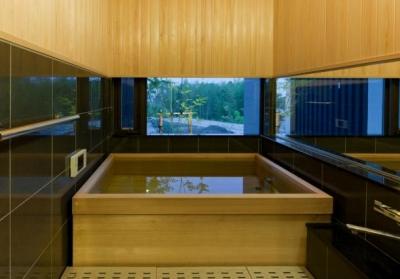 浴室 (HOUSE MZ 『終の棲家』)