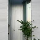 光格子の家の写真 玄関-外観