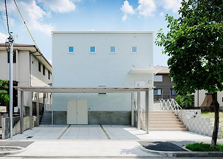 建築家:清水健二「ミントブルーの家」