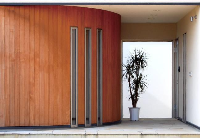 アール壁の部屋 玄関