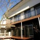 木田智滋の住宅事例「街なかのモダンハウス」