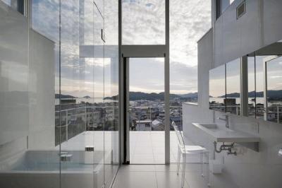 浴室・洗面(撮影:Hiroshi Ueda) (うみそらさんぽ)
