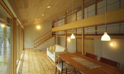 屯田の家 (居間)