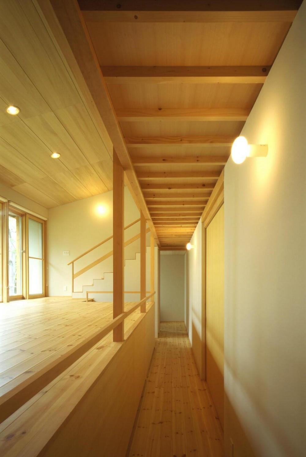 屯田の家 (1階廊下)