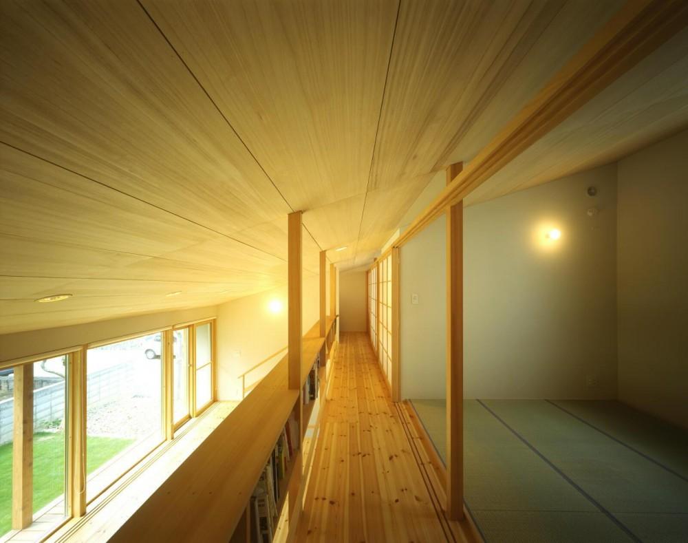 屯田の家 (2階廊下)