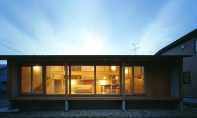屯田の家 (外観2)