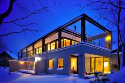 Glass House (ヴィラ外観1(撮影:KEN五島))