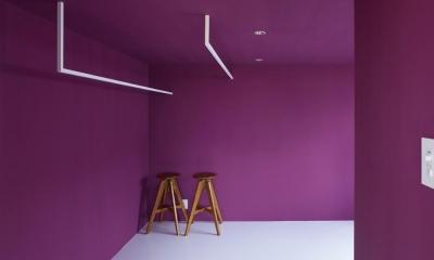 ベッドルーム|農具倉庫をコンバージョンした家