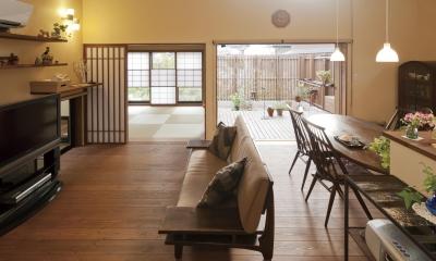 深川の家 House In Fukawa (リビング)