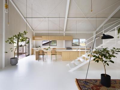 キッチン (農具倉庫をコンバージョンした家)