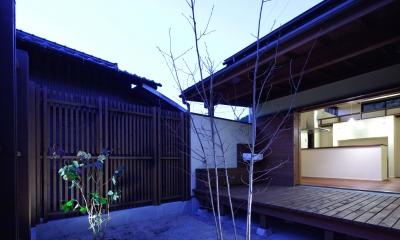 深川の家 House In Fukawa (デッキ)