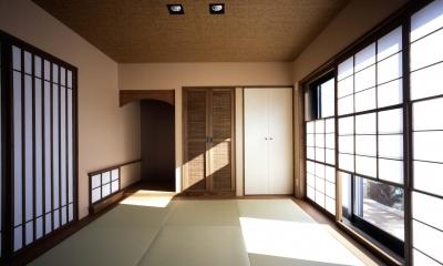 深川の家 House In Fukawa (和室)