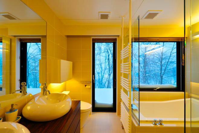 Glass Houseの部屋 サニタリールーム(撮影:KEN五島)