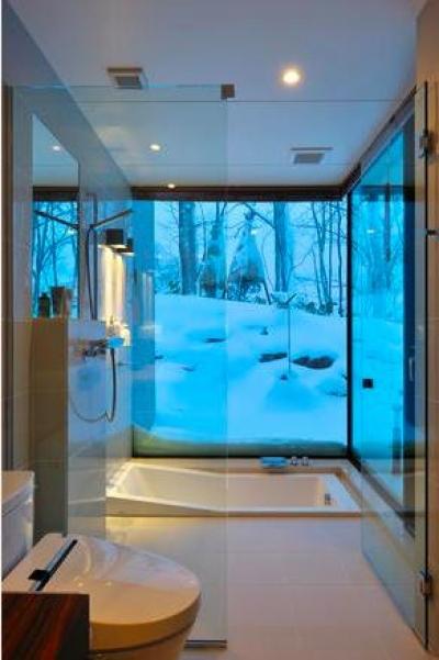 トイレ・浴室(撮影:KEN五島) (Glass House)