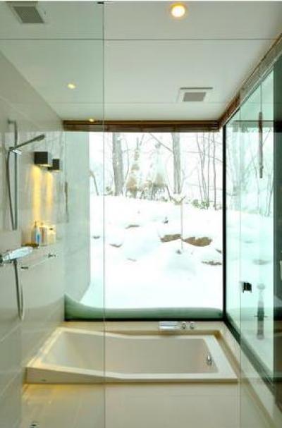 浴室(撮影:KEN五島) (Glass House)