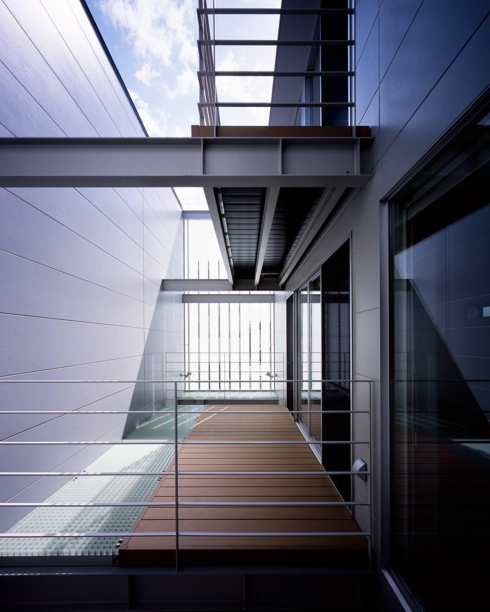 段原の家 House In Danbara (バルコニー)
