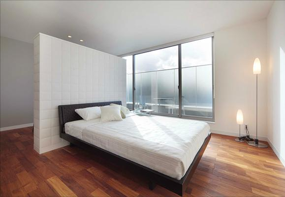 The URBANの部屋 ベッドルーム