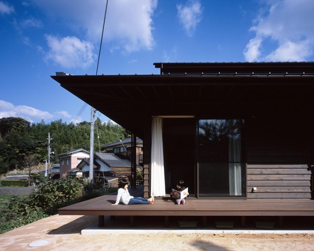 デッキ (長門の家  House In Nagato)