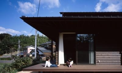 長門の家  House In Nagato (デッキ)