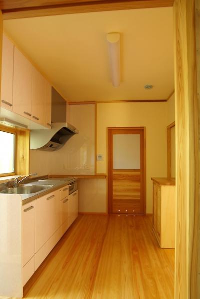 平屋 純和風スタイル 幸せエコ住宅 (キッチン)