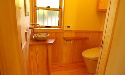 トイレ|平屋 純和風スタイル 幸せエコ住宅