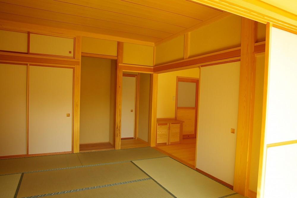 平屋 純和風スタイル 幸せエコ住宅 (寝室)