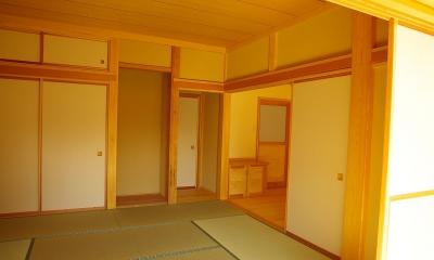 寝室|平屋 純和風スタイル 幸せエコ住宅